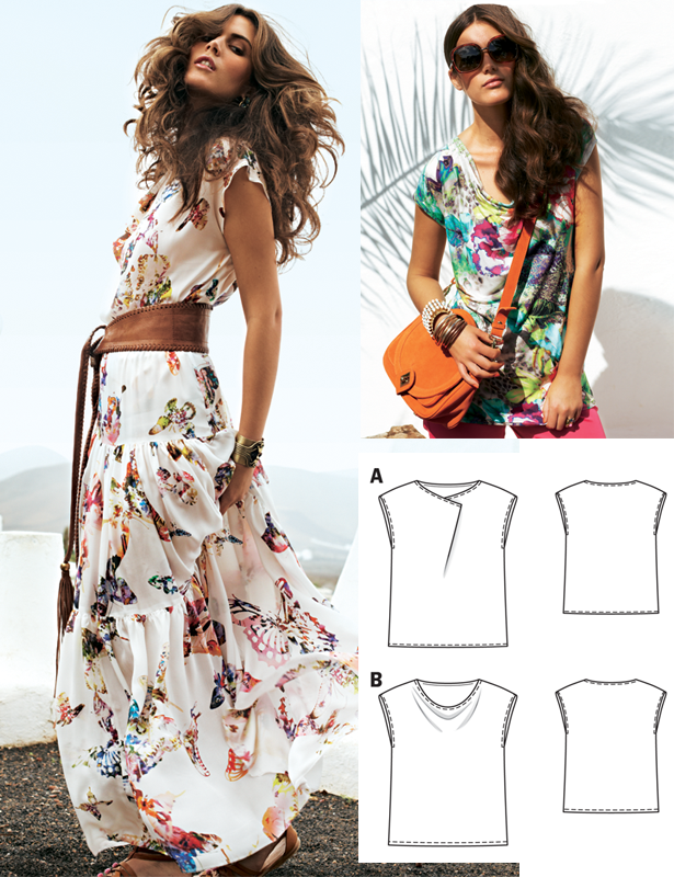 Brazilian Summer: 6 New Women\'s Sewing Patterns – Sewing Blog ...