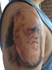 Darwin Sleeve Tattoo