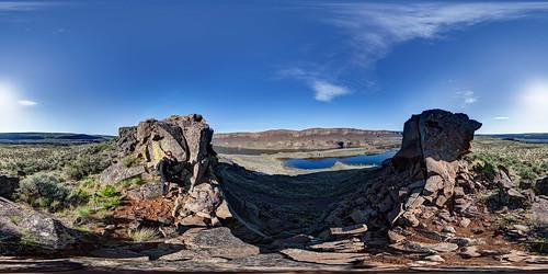 panorama lake washington scree coulee grandcoulee stitched 360x180 basalt ptgui photomatix canon15mm nodalninja3 lakemissoulafloods canon5dmk2 garretveley glacialoutburstflood lakelenorecavespark