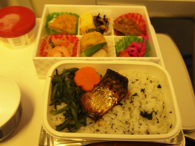 機内食 JL29 羽田ー香港
