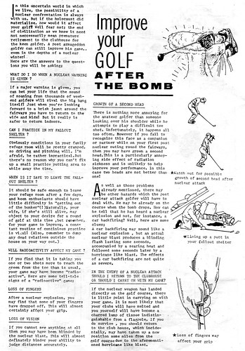 Improve Your Golf After The Bomb