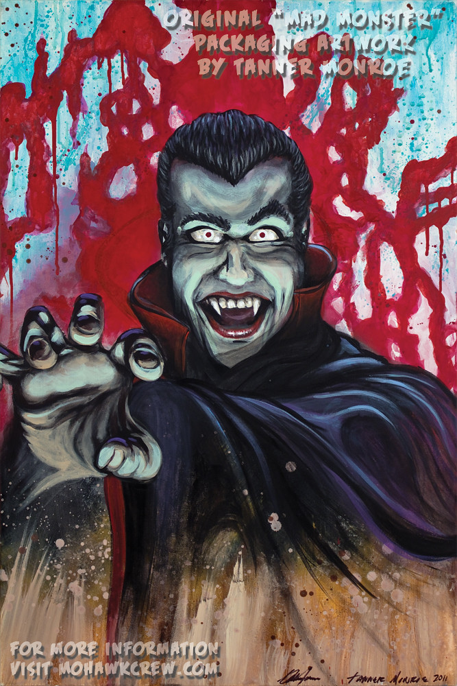 """The Dreadful Dracula"" Original Painting by Tanner Monroe"
