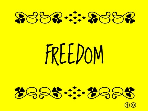 Buzzword Bingo: Freedom =