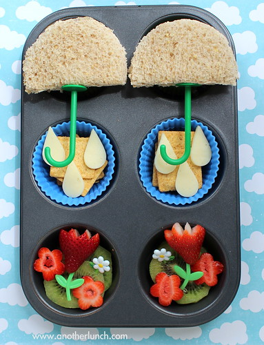 Muffin Tin Monday - April Showers Bring May Flowers
