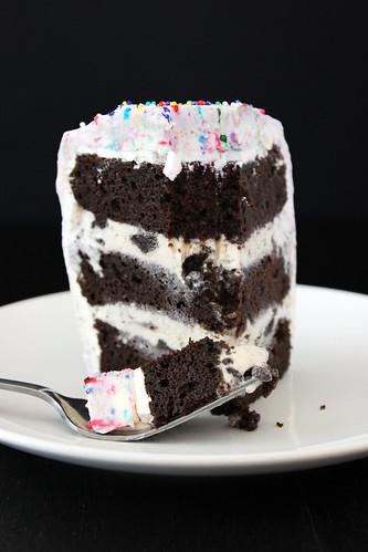 icecream cake icing