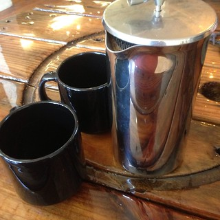 Personal French Press Coffee @ Arbor Cafe