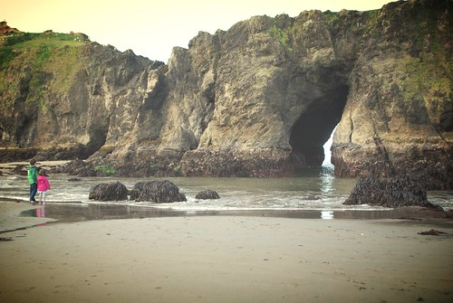 Low tide, Elephant Rock - Coquille Point - Bandon, Oregon