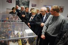 Visite de la salle Pierre-Gervais