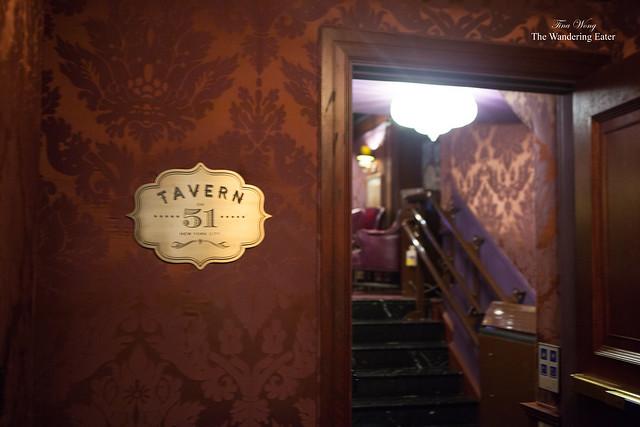 Entering Tavern 51