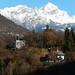 Vallée de l'Arly et le Mont Charvin (2409m), Conflans, Albertville, Savoie, Rhône-Alpes, France. ©byb64
