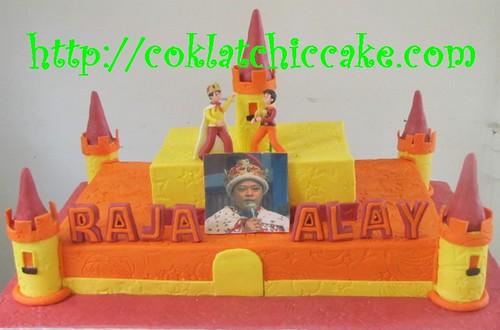 Kue ulang tahun Raja Alay YKS Trans TV