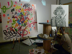 Live Painting de SOEM y BÄLU