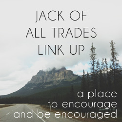 A Harvest of Blessing | Jack of All Trades Link Up