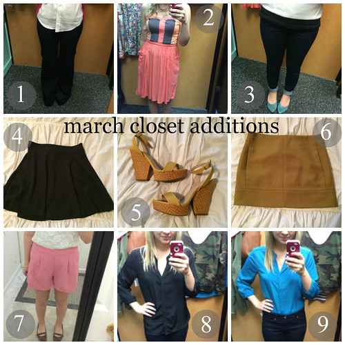 march closet additions
