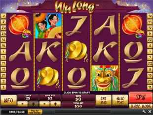 Wu Long Slot Machine
