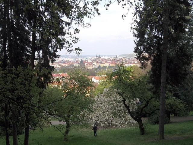 Easter afternoon at Kinsky Park, Prague