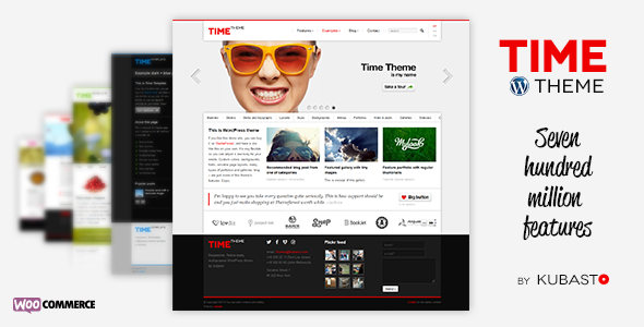 Time v4.3 - Responsive WordPress Theme