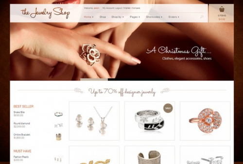 The Jewelry Shop v1.4.1 - A Luxurious and Elegant Theme To Sell Your Products