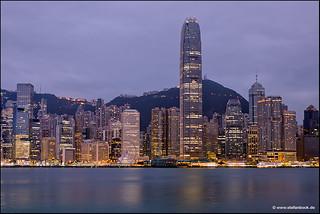 Hong Kong Skyline Early Morning