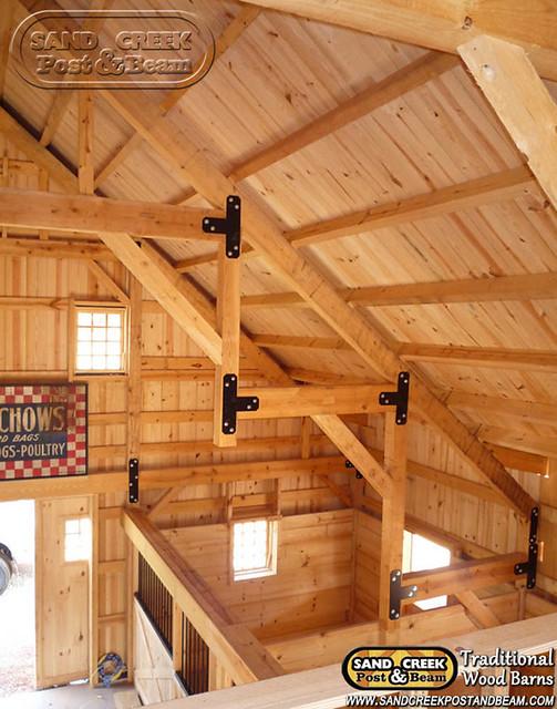 Interior Beams Sand Creek Post Beam Traditional Wood