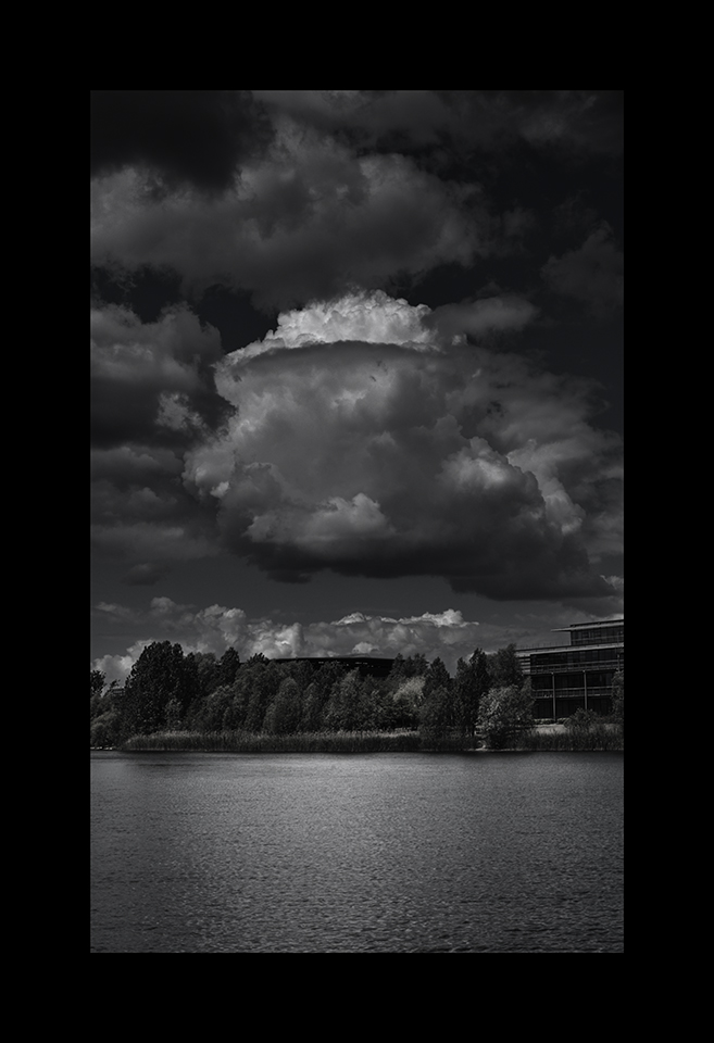 Information about ID610: Bedfont Cumulus over Lake by Nicholas M Vivian