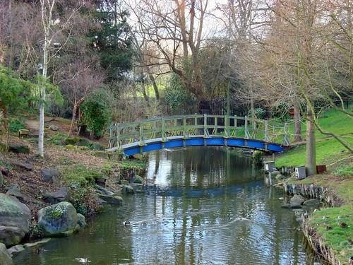 The bridge in Regent park by Julie70