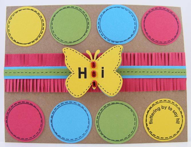 Butterfly Hi Card