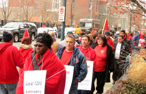 Local 1298 Mobilizes