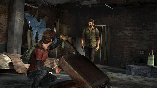 The Last of Us - Ellie finds ammo