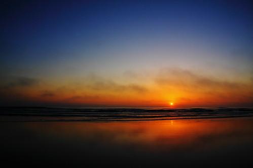 ocean beach st sunrise florida atlantic crescent augustine