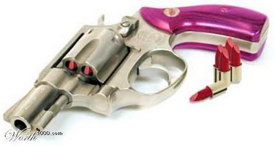 arma de mulher