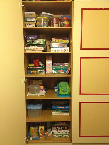 Decluttering - Toy Cupboard