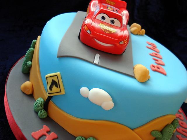 Disney Cars Cake Images : Disney Cars Cake! Flickr - Photo Sharing!