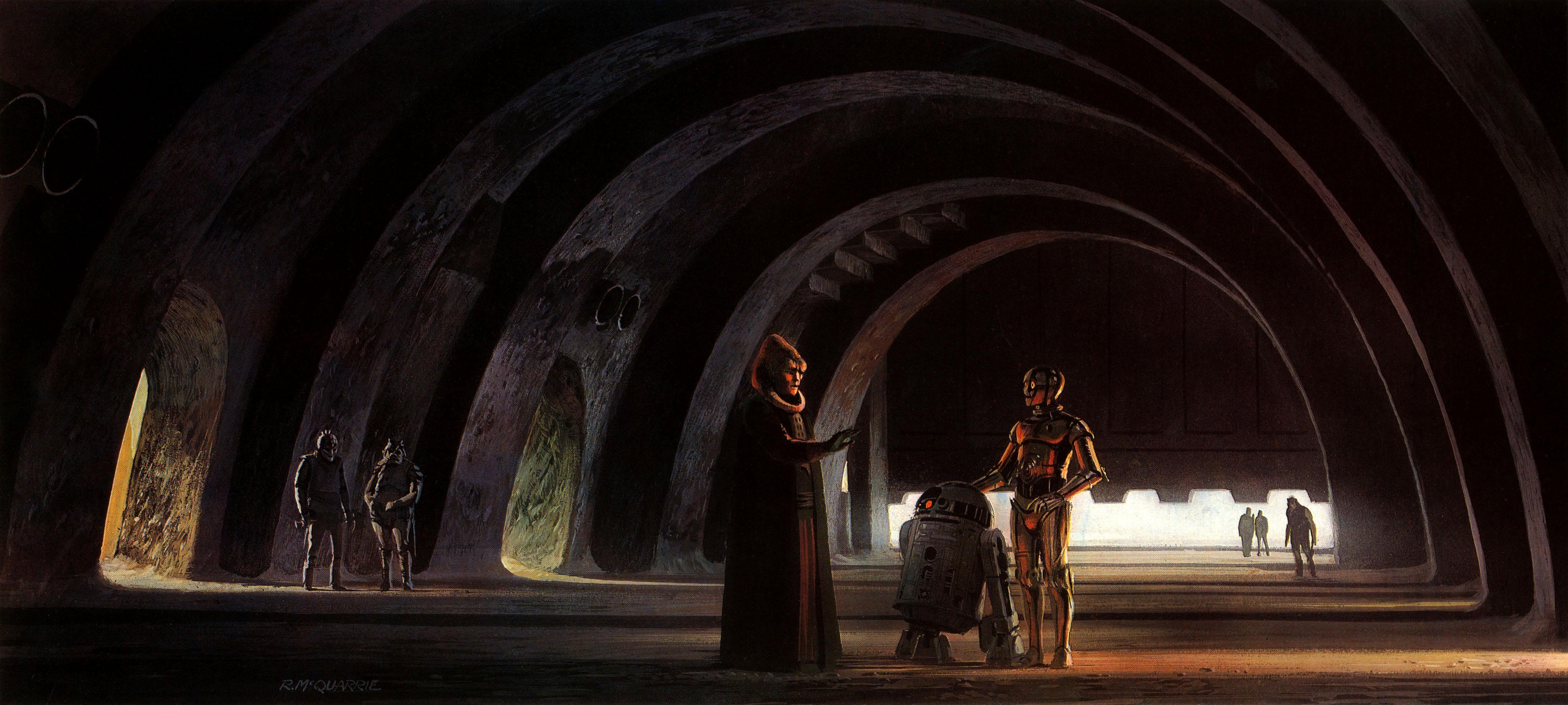 Monster Brains Ralph Mcquarrie Star Wars Paintings