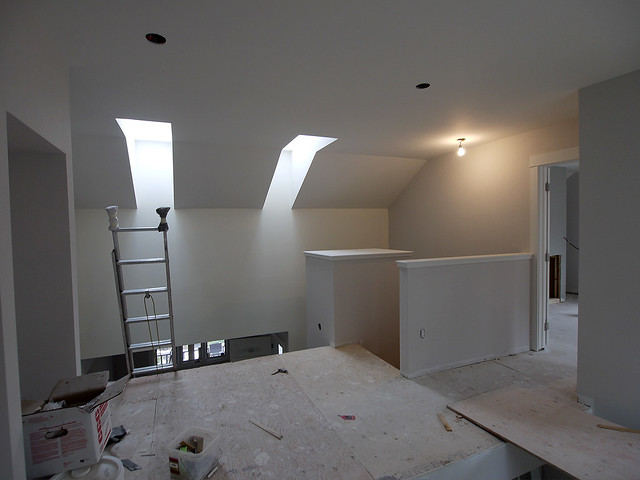 upper level skylights