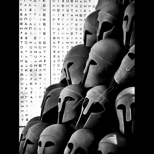 72/366: greek helmets by nyah74