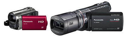 Panasonic's Summer/Spring line-up of camcorder ranges from the compact HC-V10 to the flagship HC-X900M.