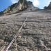 Granite landscape - climbing the Devil's Slide - Lundy, Bristol Channel, UK by Richard Allaway
