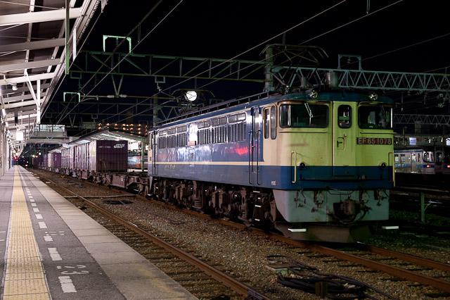 EF65 1078 松山駅