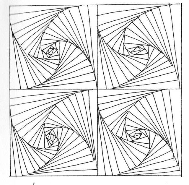 Straight Lines Drawing