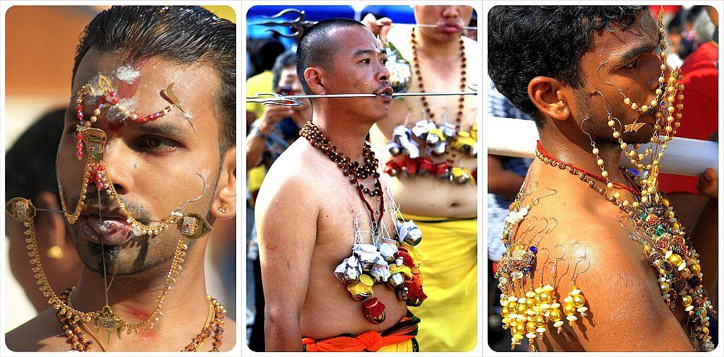 thaipusam 2012 in penang malaysia