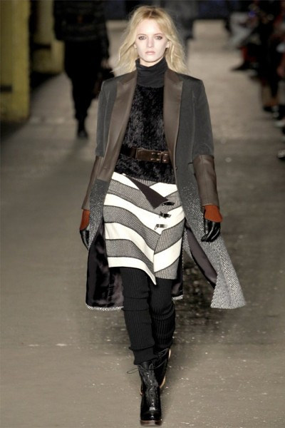 Rag Bone Runway Fall 2012
