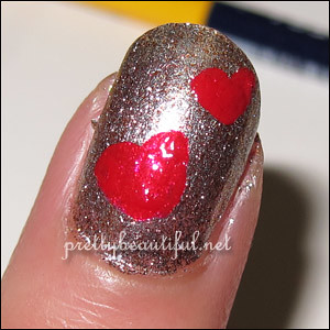 Valentines heart design