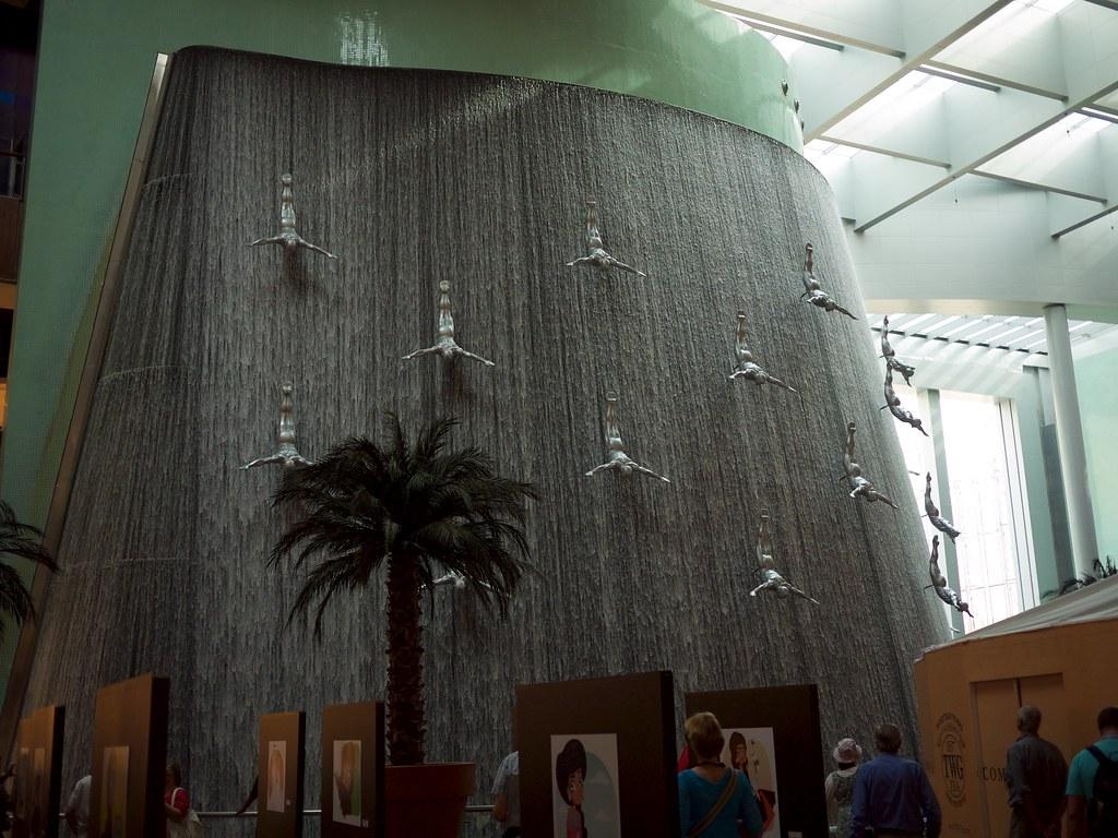 Waterfall in the Dubai Mall
