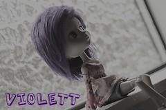 Violett....