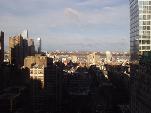 View from the Marriott Marquis, New York, NY, Feb 2012 by suzipaw