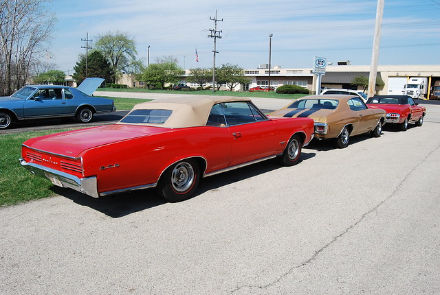 66 Pontiac Gto Convertible 70 Chevelle Ss 72 Olds