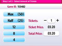 Giggle Bingo Ticket Purchaser