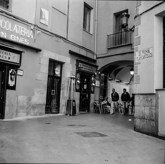 Madrid Calle de San Gines