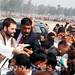 Rahul Gandhi's road show in Sultanpur, U.P (7)